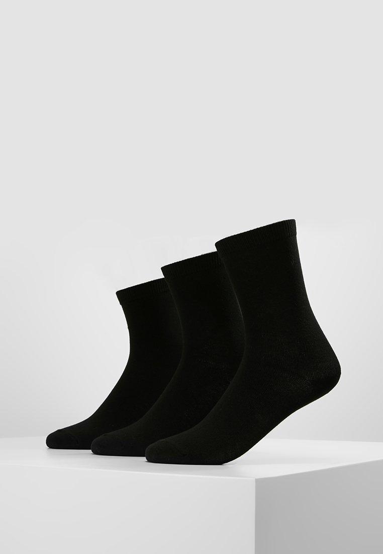 Anna Field - 3 PACK - Ponožky - black