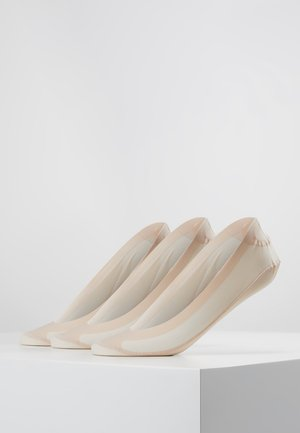 3 PACK - Socquettes - nude