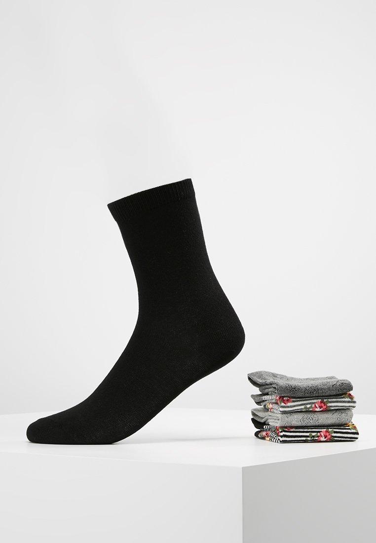 Anna Field - 5 PACK - Socken - black