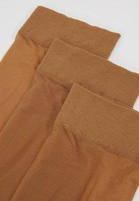 Anna Field - 3 PACK  - Socks - light brown - 2