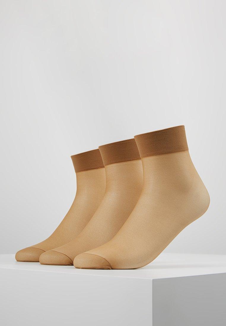 Anna Field - 3 PACK  - Socks - light brown