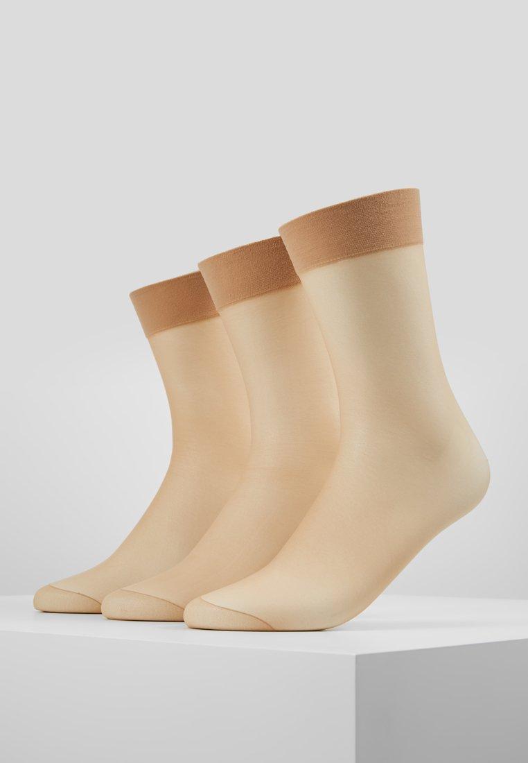 Anna Field - 3 PACK - Sokker - nude