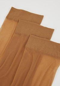 Anna Field - 3 PACK - Strumpor - light brown - 2