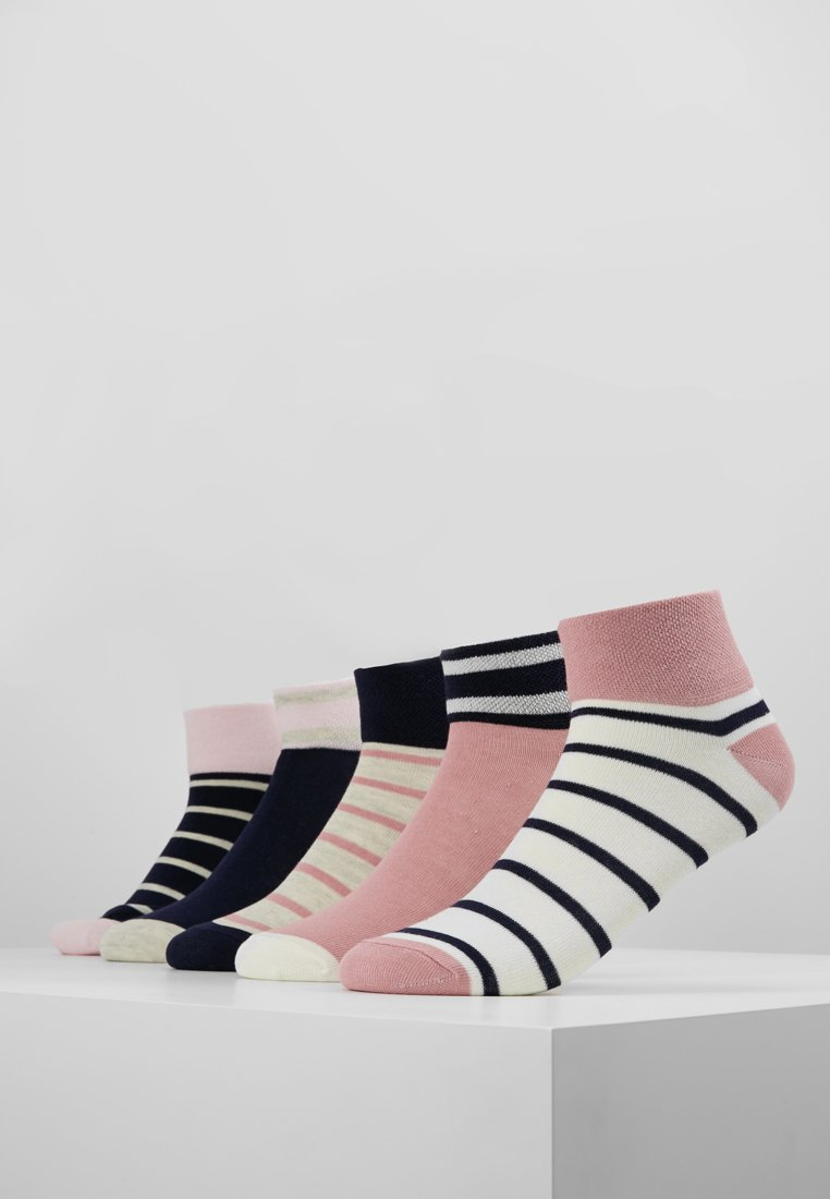 Anna Field - 5 PACK - Socken - pink/dark blue