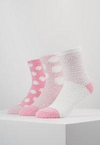 Anna Field - 3 PACK - Socks - pink - 0