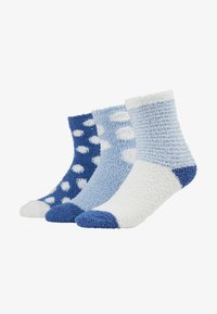 Anna Field - 3 PACK - Sokker - blue - 1
