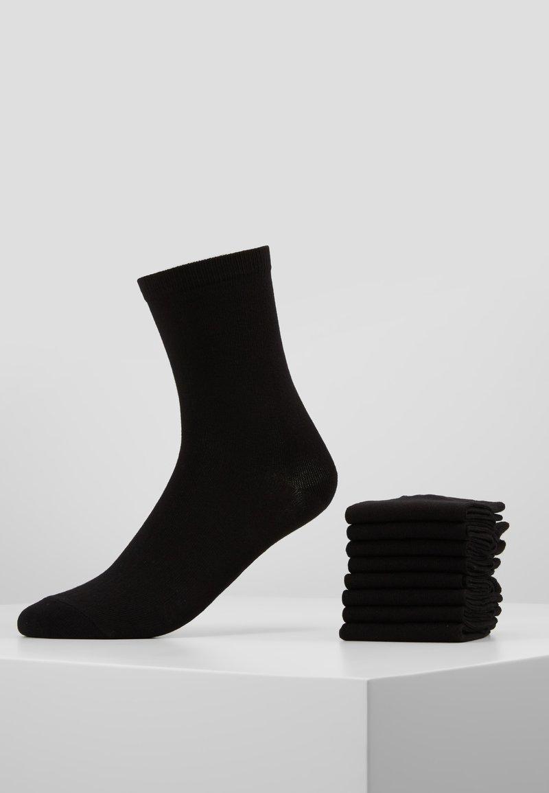 Anna Field - 8 PACK - Sokker - black