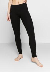 Anna Field - 2 PACK - Leggings - Stockings - black - 0