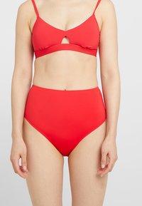 Anna Field - 2 PACK - Bikini bottoms - red/dark blue - 1