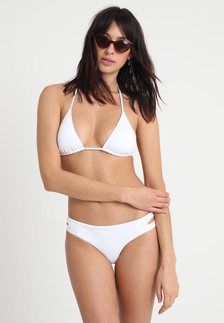 Anna Field - 2 PACK - Bikini top - black/white