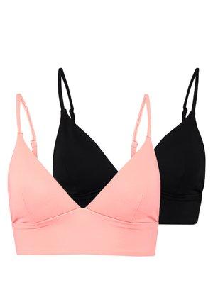 2 PACK - Bikiniyläosa - nude/black