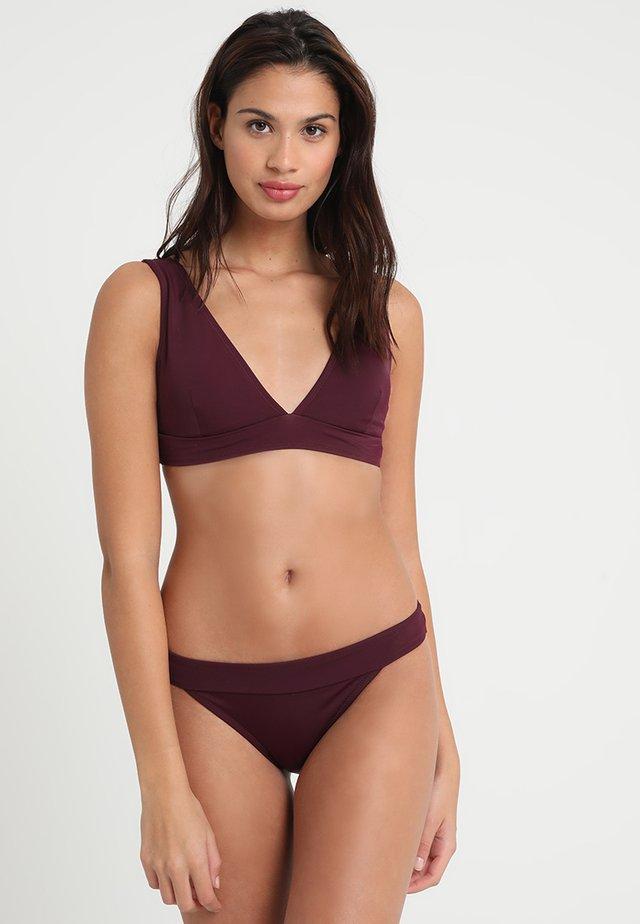 SET - Bikinit - bordeaux