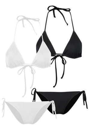 2 PACK - Bikini - black/white