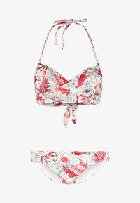 Anna Field - SET - Bikini - white/red - 4