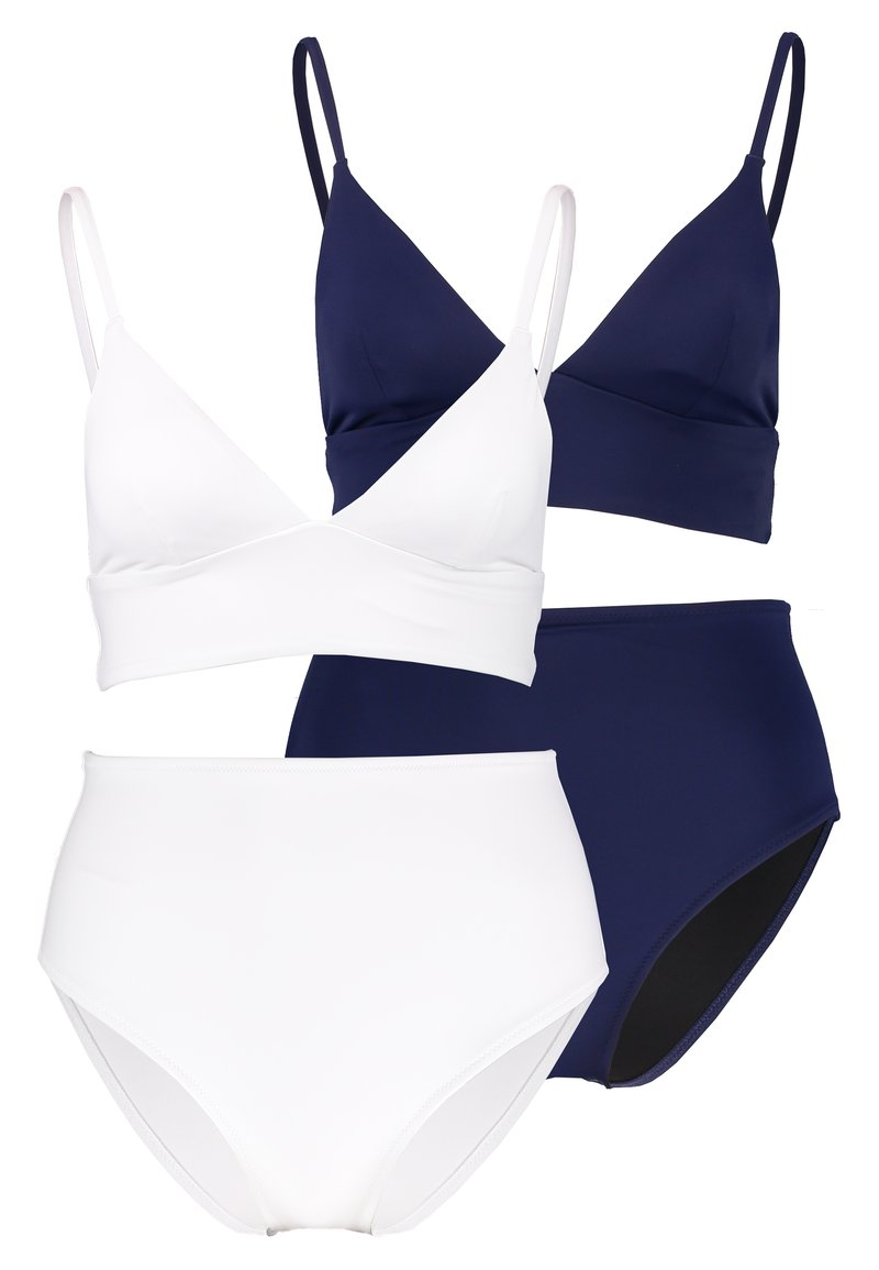Anna Field - SET 2 PACK - Bikini - dark blue/white