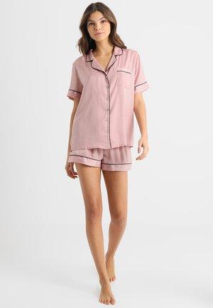 Pyžamová sada - pink/black