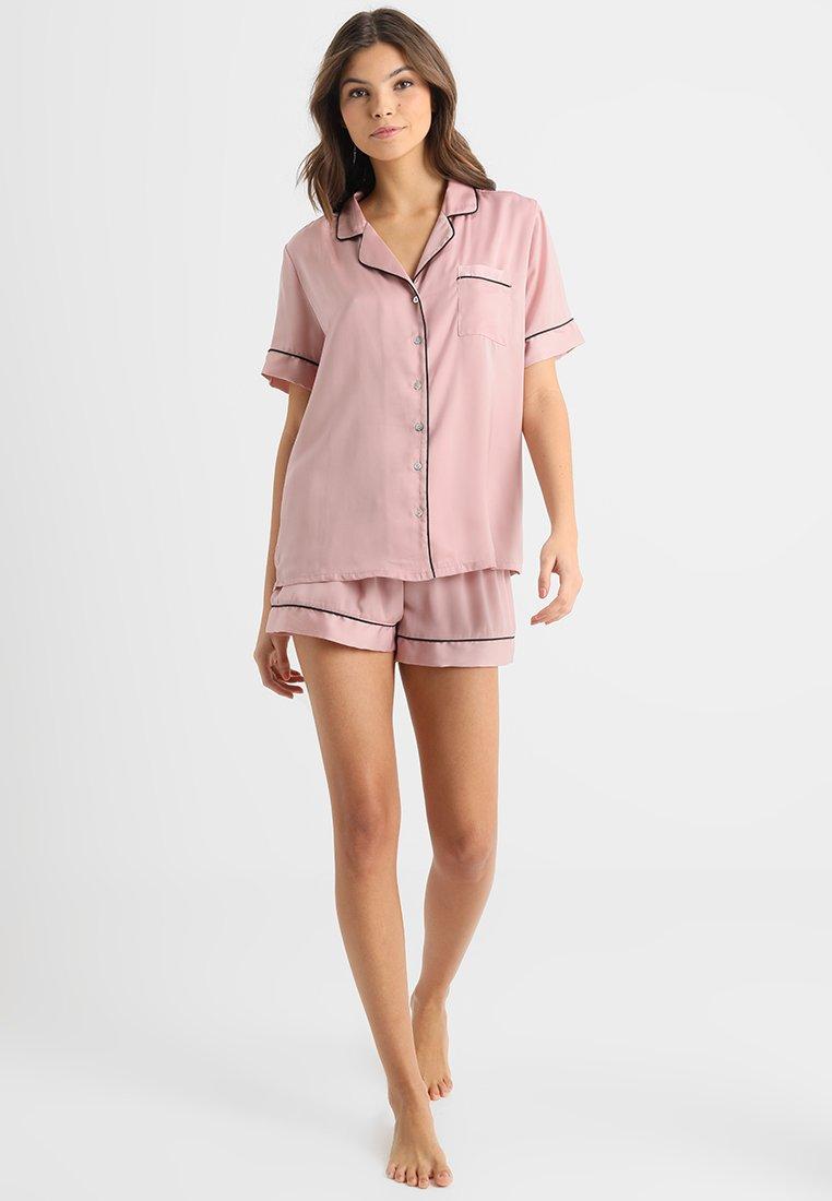 Anna Field - Pyjamas - pink/black