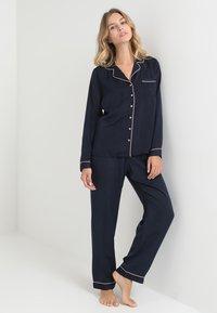 Anna Field - SET - Pyjamas - dark blue - 1