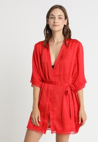 Anna Field - Dressing gown - red - 0