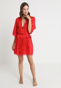 Anna Field - Dressing gown - red - 1
