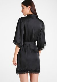 Anna Field - BRIDAL - Dressing gown - black - 2