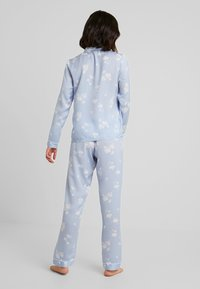 Anna Field - SET - Pyjamas - white/light blue - 2