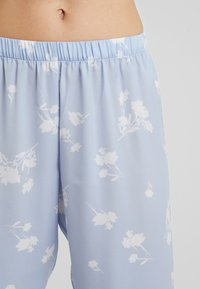 Anna Field - SET - Yöasusetti - white/light blue - 5