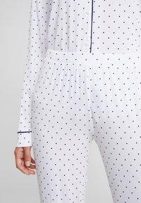 Anna Field - SET - Pyjamas - white/dark blue - 6