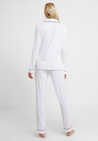 Anna Field - SET - Pyjamas - white/dark blue - 2