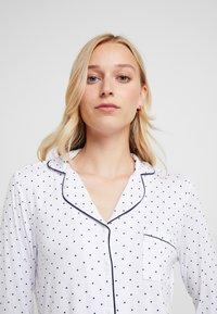 Anna Field - SET - Pyjamas - white/dark blue - 3