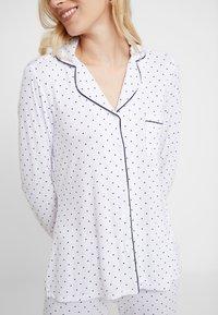 Anna Field - SET - Pyjamas - white/dark blue - 4