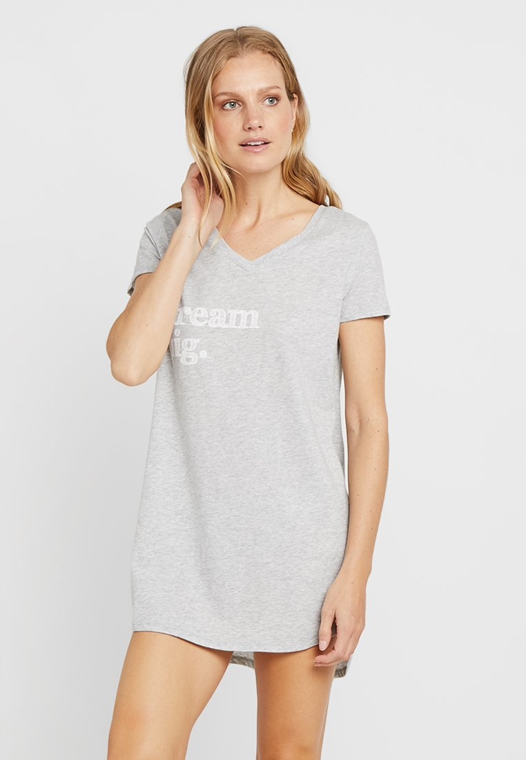 Anna Field - Nachthemd - mottled light grey