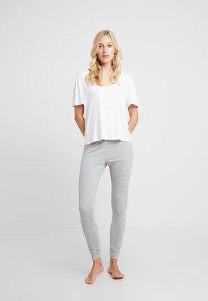 SET - Pyžamová sada - grey/white