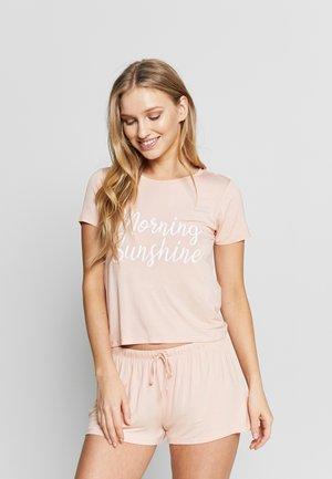SET - Pyjama - apricot
