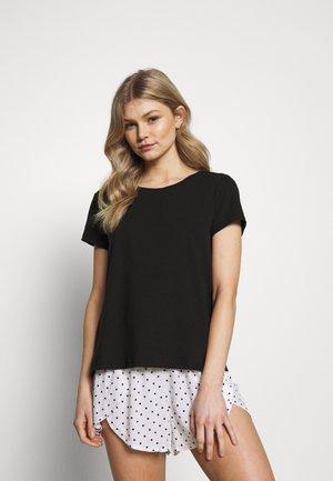 SET - Pyjama - black/white