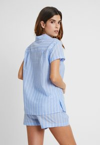 Anna Field - STRIPE SHORT SET - Pyžamová sada - blue - 2