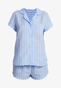 Anna Field - STRIPE SHORT SET - Pyžamová sada - blue - 4