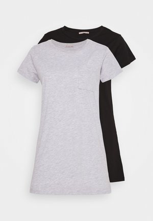2 PACK - Nightie - grey