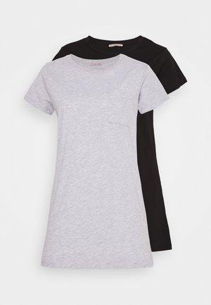 2 PACK - Noční košile - grey
