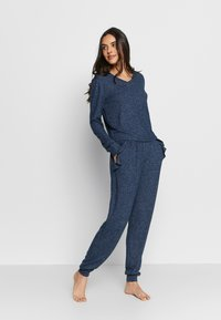 Anna Field - SET - Pyjamas - dark blue - 1