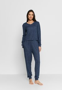 Anna Field - SET - Pyjamas - dark blue - 0