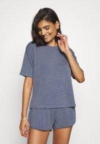 Anna Field - SET - Pyjamas - blue - 0