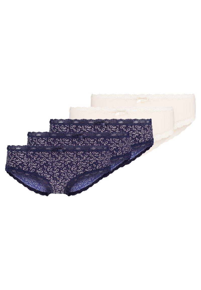 Anna Field - 3 PACK - Slip - dark blue/nude