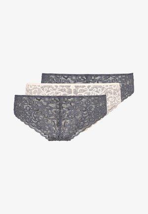 3 PACK - Panty - rocksalt/coal