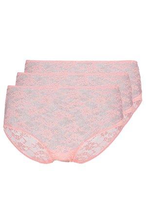 3 PACK - Underbukse - pink