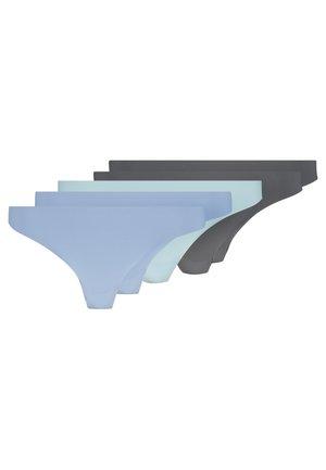 5 PACK - Perizoma - stone/blue/grey