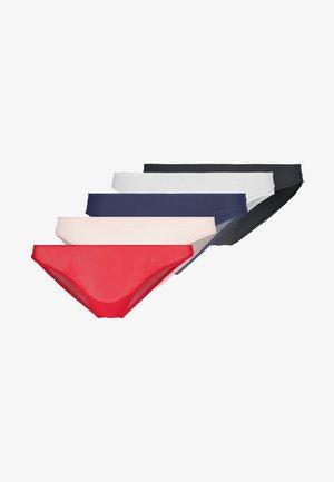 5 PACK - Underbukse - red/pink/blue