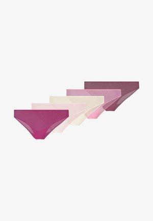 5 PACK - Figi - purple/rose/dark red