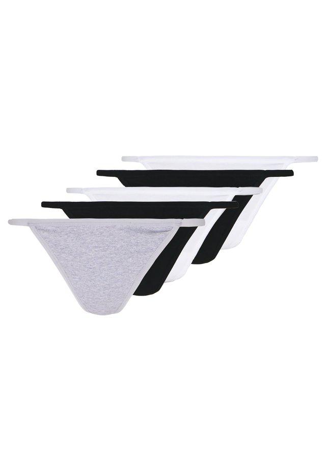 5 PACK - String - grey/white/black
