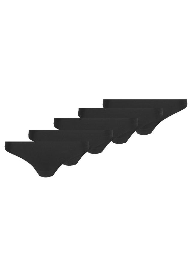 5 PACK - String - black
